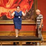 Salzburger Festspiele 2014, Il trovatore - Giuseppe Verdi, Marie-Nicole Lemieux (Azucena) during photo rehearsal, Aug. 4, 2014 Credit:DDP IMAGES EDITORIAL/SIPA/1408051158