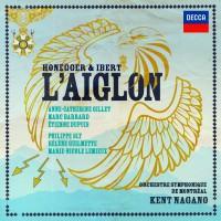 Lemieux Honnegger Ibert Aiglon Decca couv
